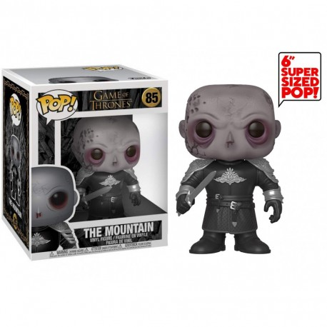 """Funko Pop Games of Thrones - The Mountain Unmasked - 6"""" oversized"""