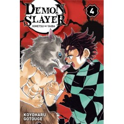 Demon Slayer T04 (Kimetsu no Yaiba) - Ed. Panini