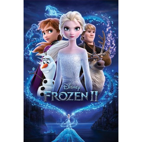 Poster Disney Frozen 2 Magic - 61 x 91 cm