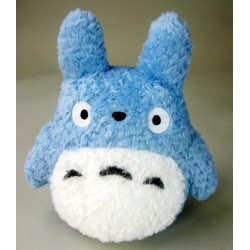 Peluche Studio Ghibli - Fluffy Medium Totoro 22cm - Produit officiel
