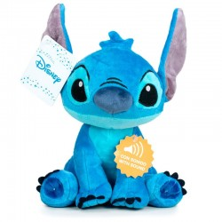 Peluche Sonore Disney - Stitch - 30cm - Produit officiel