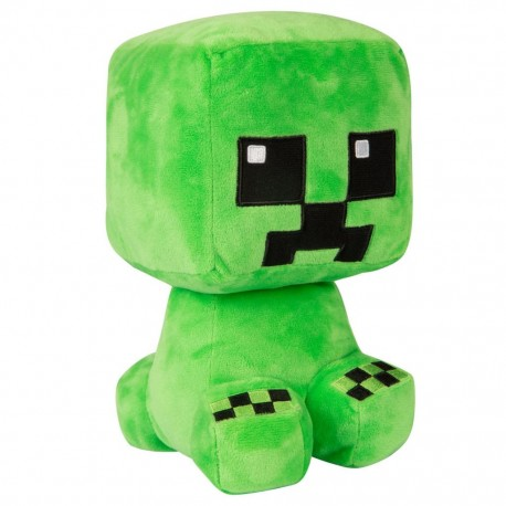 Peluche officielle Minecraft - Creeper - 23cm