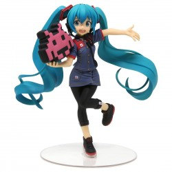 Figurine Hatsune Miku Uniform version 2 Space Invaders 18cm - Taito