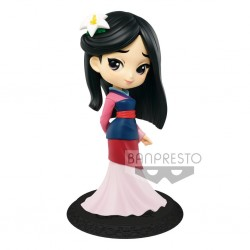 Figurine QPosket Disney - Mulan Normal color - 14cm - Banpresto