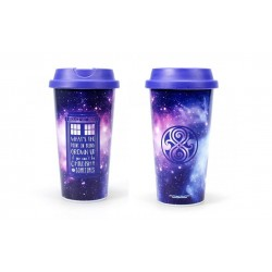 Mug de voyage - Doctor Who - Galaxy - plastique - 450ml
