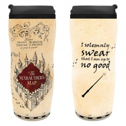 Mug de voyage - Harry Potter - MarauderMap - plastique - 355ml