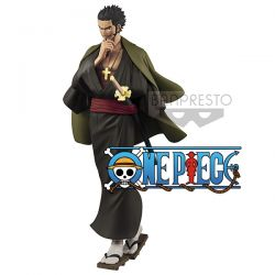 Figurine One Piece Treasure Cruise Dracule Mihawk 20cm Banpresto