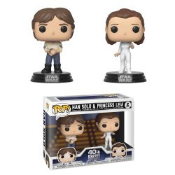 Funko Pop Star Wars Han & Leia 2-pack