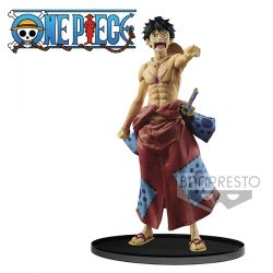 Figurine One Piece WFC Special Monkey D Luffy Wanokuni