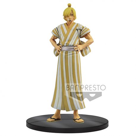 Figurine One Piece DXF Grandline Men Wanokuni Sanji 17cm Banpresto