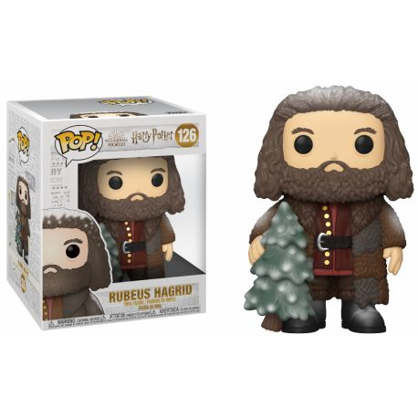 Funko Pop Harry Potter - Holiday Rubeus Hagrid  6""