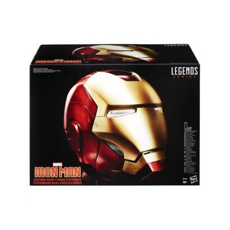 Casque électronique Marvel Legends Gear Iron Man (Hasbro)