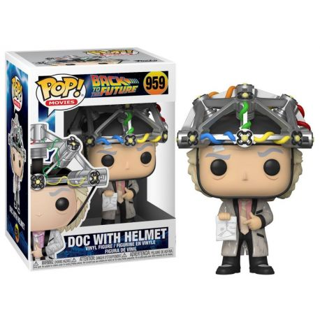 Funko Pop Back to the future Doc with helmet