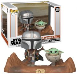 Funko Pop Movie Moments Star Wars The Mandalorian & Child