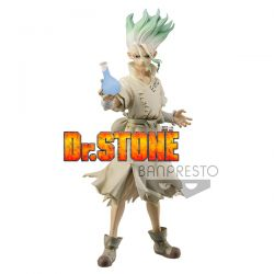 Figurine Dr Stone - Figure of Stone World - Senku Ushigami 18cm