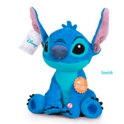 Peluche Sonore Disney - Stitch - 40cm - Produit officiel