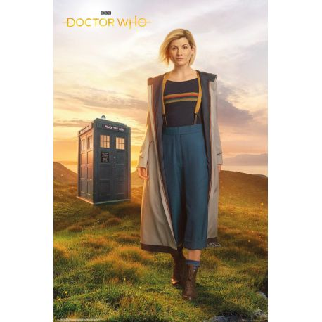 Poster Doctor Who 13th Doctor 61x91