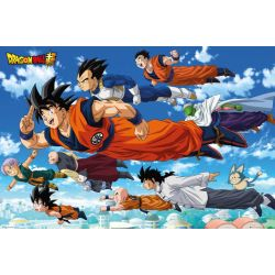 Poster Dragon Ball Super Flying 61x91