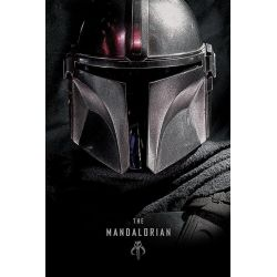 Poster Star Wars The Mandalorian Dark 61x91
