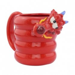 Mug Disney shaped Mushu