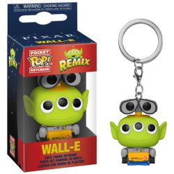 Funko Pop Porte-clé Toy Story Alien Remix Wall-E