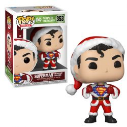 Pop DC Holiday Superman with sweater