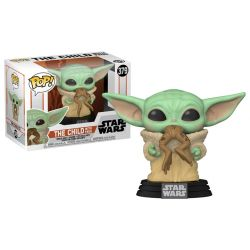 Funko Pop Mandalorian The Child with frog