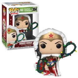 Pop DC Holiday Wonder Woman with lights lasso