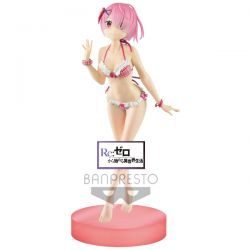 Figurine RE Zero Starting Life in another world EXQ Ram swimsuit 22cm