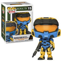 Funko Pop Games - Halo Infinite Spartan Mark VII Yellow with commando rifle (Game add-on)