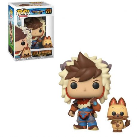 Funko Pop Games - Monster Hunter Lute with Navirou