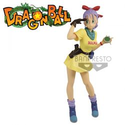 Figurine Dragon Ball Z Glitter & Glamours Bulma verB 25cm