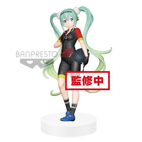 Figurine Hatsune Miku Racing 2018  Team