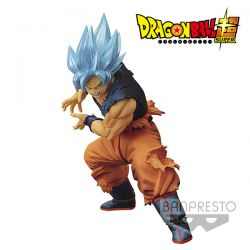 Figurine DBZ Maximatic Son Goku Super Saiyan God 20cm