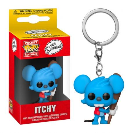 Porte-clé Funko Pop Simpsons Itchy