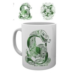 Mug Harry Potter Serpentard Monogram 320ml