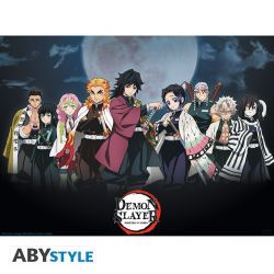 Poster Demon Slayer Piliers 52x38
