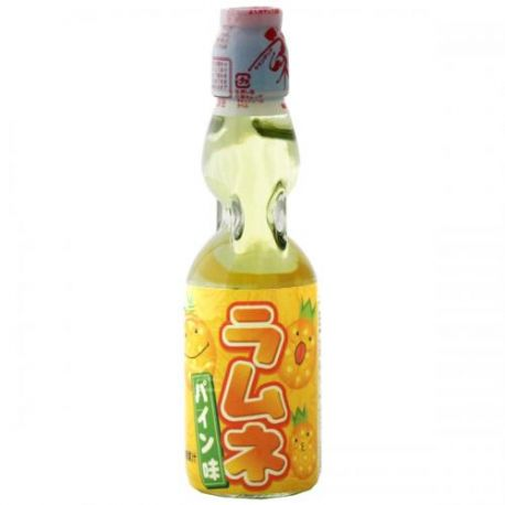 Soda Ramune Ananas bouteille verre20cl