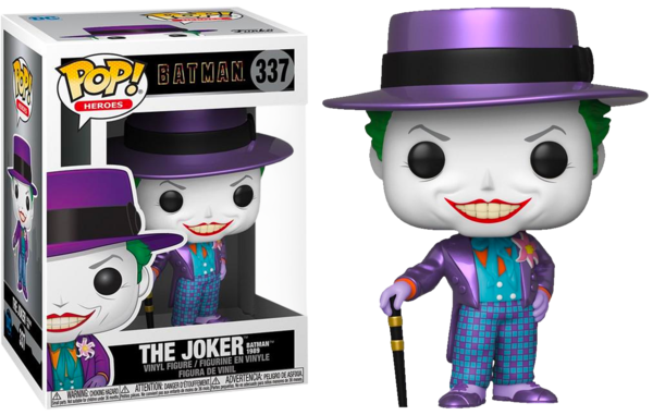 Funko Pop C Comics Joker 1989 with hat